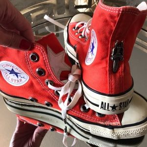 Chrome Hearts X Converse tennis shoes